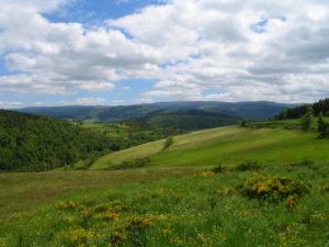 Mont Lozere vue du Goulet