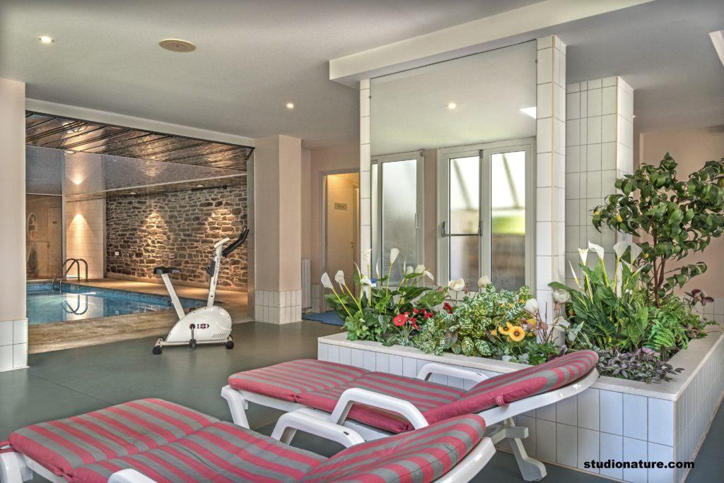 Espace détente (piscine, sauna, bain à remous)